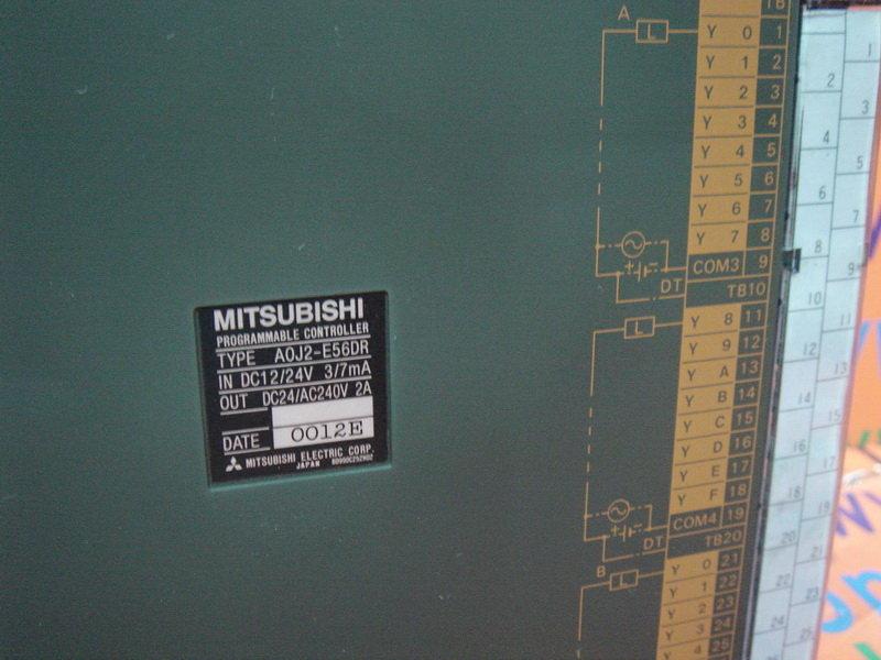 Mitsubishi MELSEC Programmable Controller      A0J2-E56DR