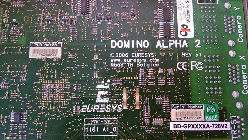 EURESYS DOMINO ALPHA2 REV A1