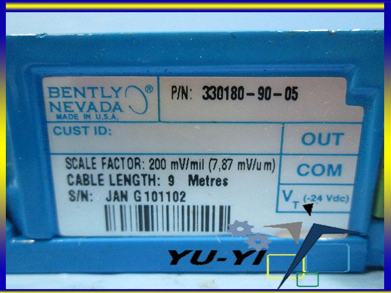Bently Nevada 330180-90-05 Proximitor Sensor 3300 XL 5 8 mm 9 Metre System 200mv/mil (2)