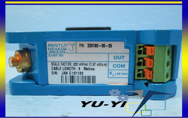 Bently Nevada 330180-90-05 Proximitor Sensor 3300 XL 5 8 mm 9 Metre System 200mv/mil (3)