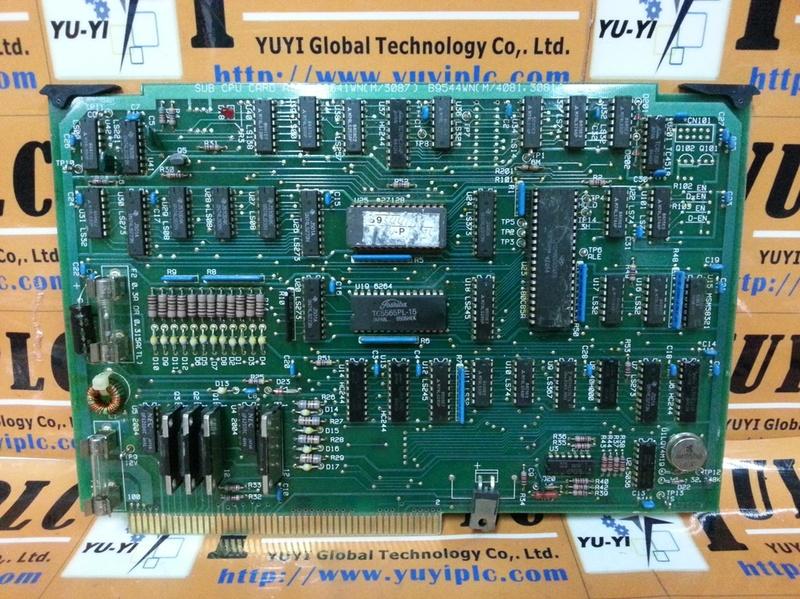 YOKOGAWA B9541WN SUB CPU CARD ASSEMBLY PC BOARD (1)