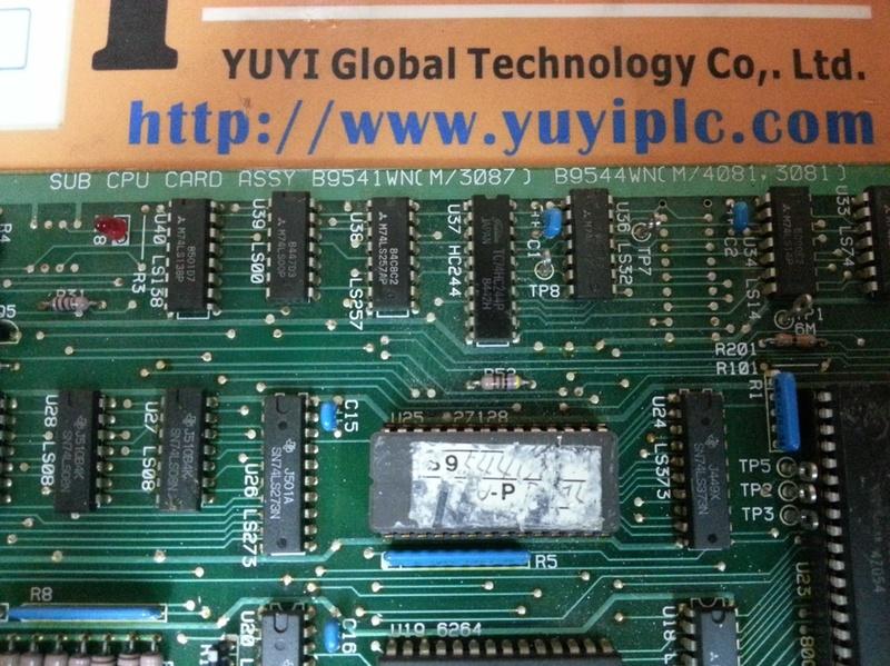 YOKOGAWA B9541WN SUB CPU CARD ASSEMBLY PC BOARD (3)