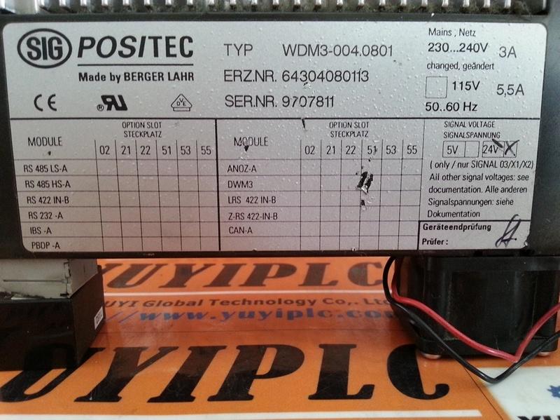 BERGER LAHR SIG POSITEC WDM3-004.0801 (3)
