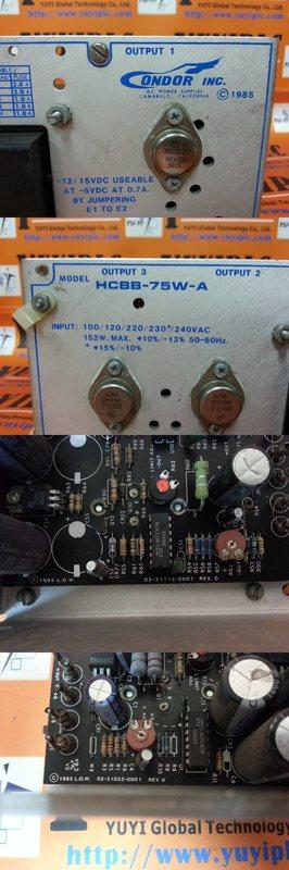 Power-One Power Supply HCBB-75W-A