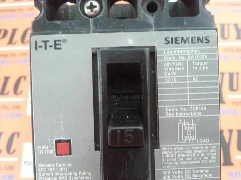 circuit breaker siemens