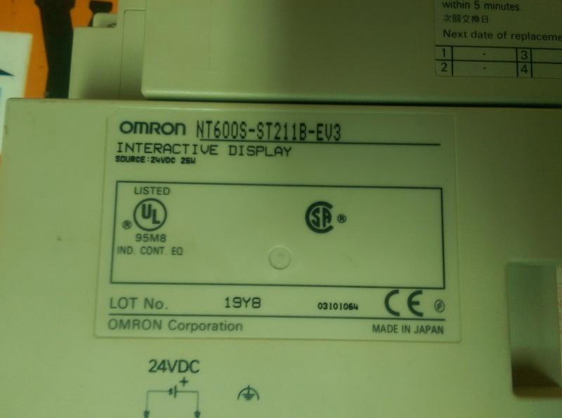 Taiwan Omron Nt600s St211b Ev3 Interactive Display Yuyi Global