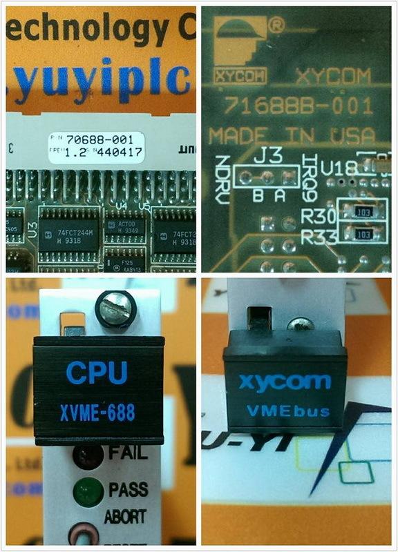 XYCOM CPU XVME-688 REV1.2 / 70688-001 VMEBUS BOARD (3)