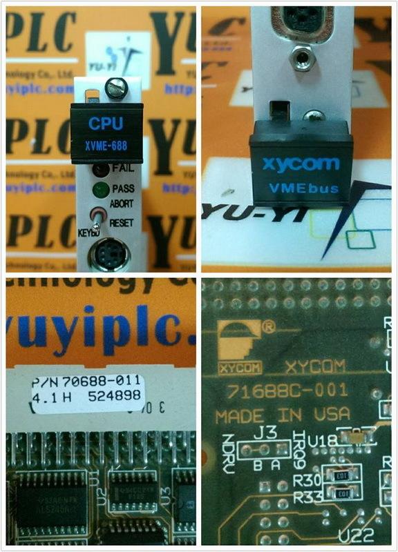 XYCOM CPU XVME-688 PROCESSOR MODULE 70688-011 (3)