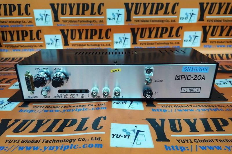 MMPIC MMPIC-20A-3 SCANNER DRIVE AMPLIFIER - PLC DCS SERVO Control