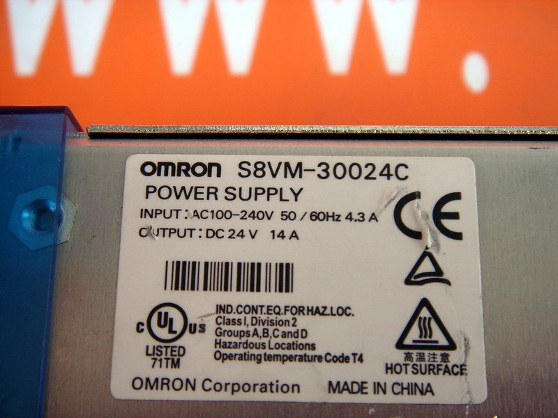 OMRON S8VM-30024C S8VM-30024/C POWER SUPPLY (3)