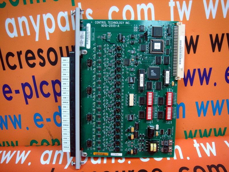 Texas Instruments PLC TI 505-2555 16 PT ANALOG INPUT MODULE CTI 901D-2555-A (2)