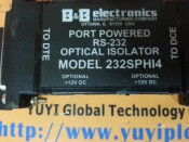 B&B OPTICAL ISOLATOR 232SPHI4 (3)