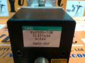 CKD EV2500-108 FL351436M DC24V REGULATOR (3)