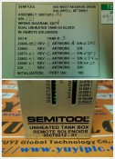 SEMITOOL 900T0212-01 UNHEATED TANK BOX REMOTE SOLENOIDS (3)