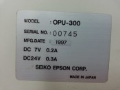 SEIKO EPSON OPU-300 SCARA Teach Pendant (The screen is damaged) (3)