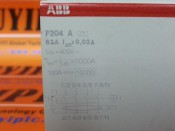 ABB F204 A 63A CURRENT CIRCUIT BREAKER (3)
