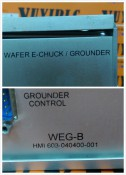HMI 603-040400-001 WAFER E-CHUCK / GROUNDER (3)