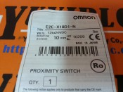 OMRON E2E-X10D1-N PROXIMITY SWITCH -NEW (2)