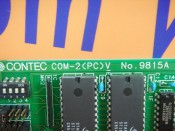 CONTEC COM-2(PC)V NO.9815A (3)