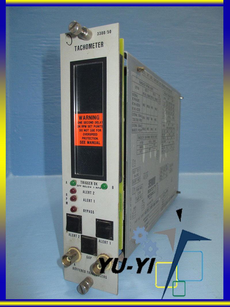 Bently Nevada 3300//50 Tachometer Monitor 3300//50-02-01-00-00 PLC 5000 RPM 200 mV