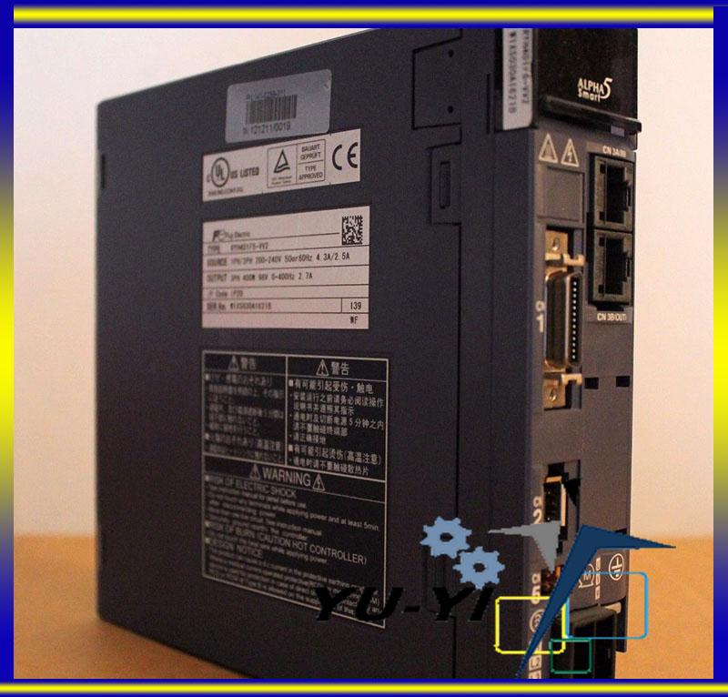 One FUJI AC Servo Drive RYH401F5-VV2 NEW