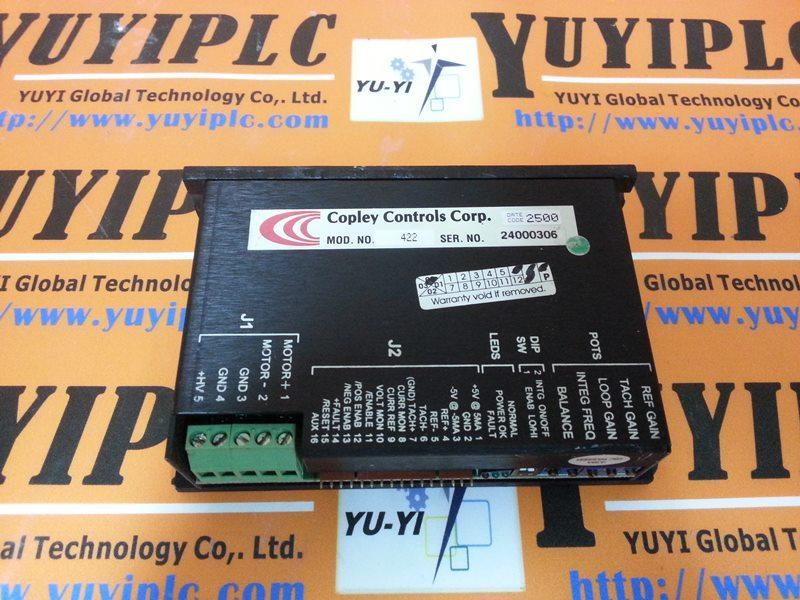 Copley Controls 422 Servo Drive Amplifier